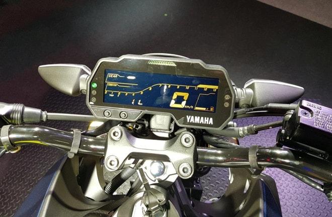 Đồng hồ LCD Yamaha MT-15 2019