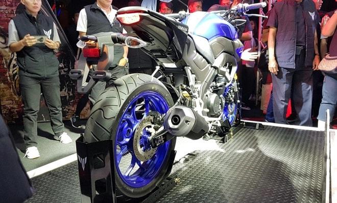 Thân xe Yamaha MT-15 2019