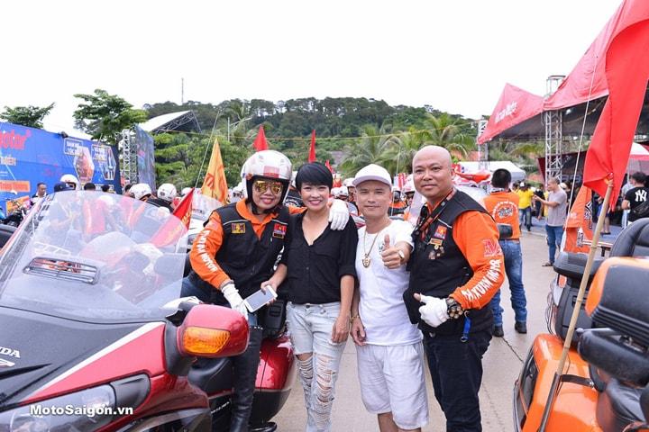 Ca sỹ Phương Thanh tại Đại Hội Moto 2019