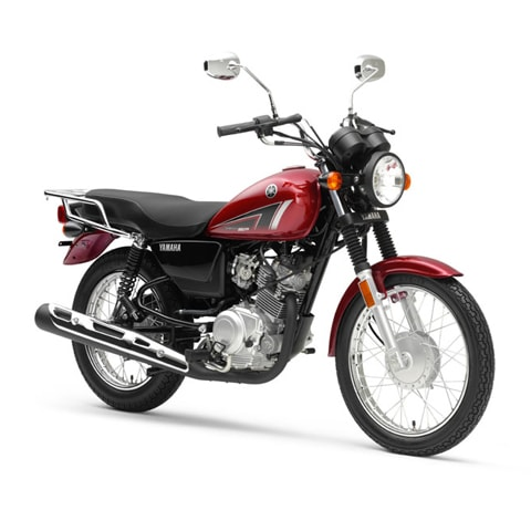 Yamaha YB125SP 2019 red