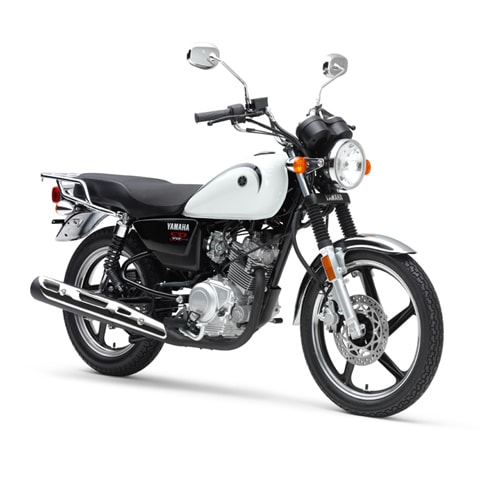 Yamaha YB125SP 2019 white
