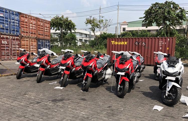 Motor Honda ADV 150 2019