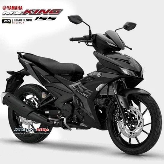 Yamaha MX King 155 2020 màu đen