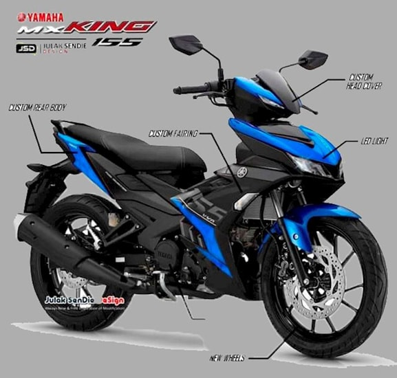 Yamaha MX King 155 2020