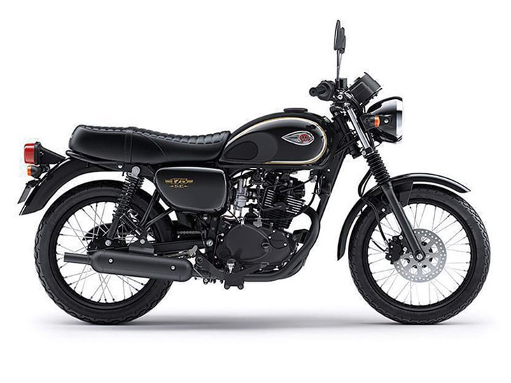 Thiết kế Kawasaki W175 2019