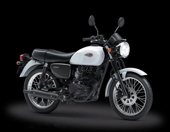 Kawasaki W175 Cafe 2019 White