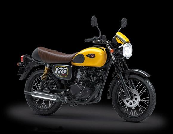 Kawasaki W175 SE 2019 Yellow