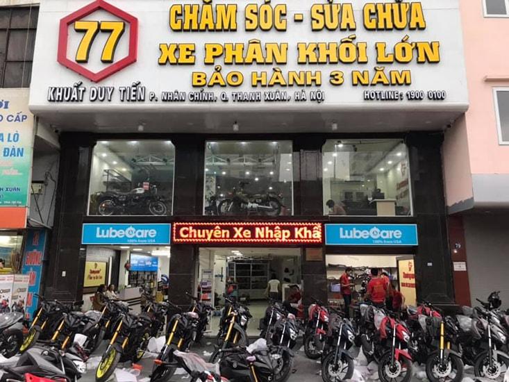 Cửa hàng Thưởng Motor Hà Nội
