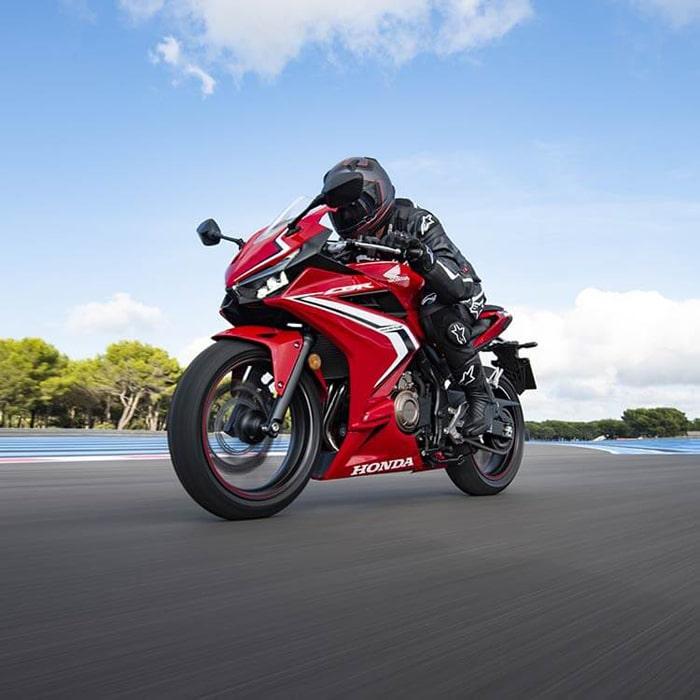 Honda CBR 500R ABS 2020 on street
