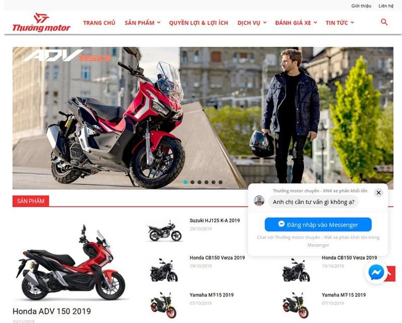 Website thuongmotor.com