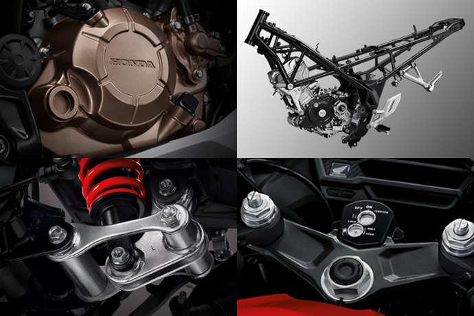 Dong co Honda CBR150R 2020