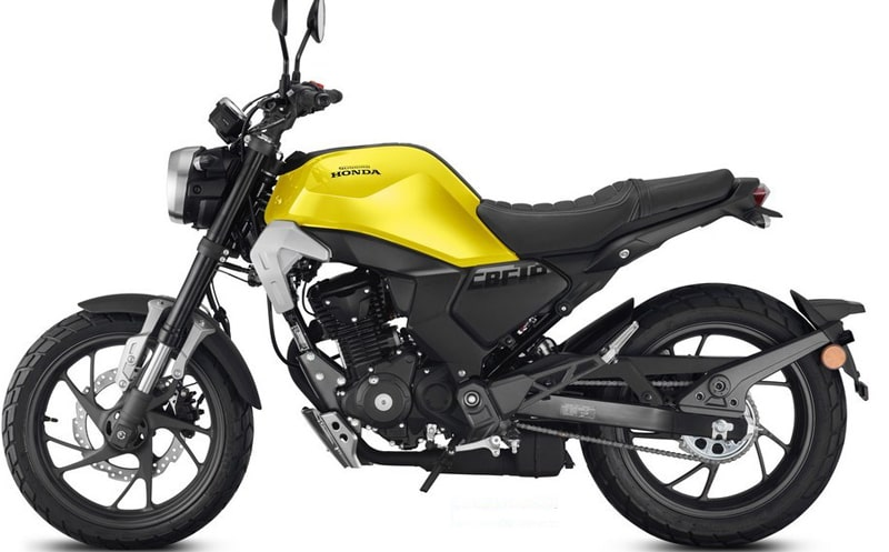 Honda CBF190 TR 2020 Retro Scrambler