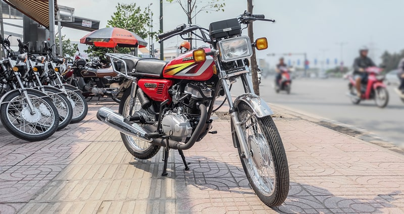 Honda CG 125cc nhập khẩu
